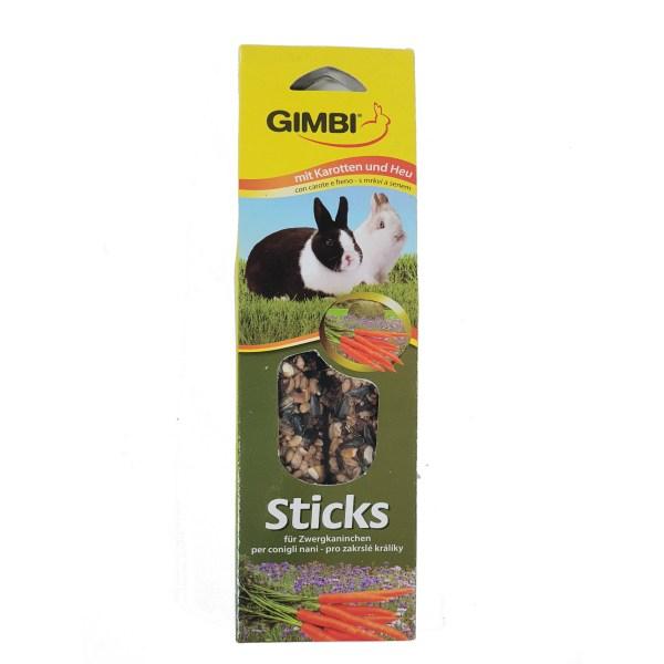 Gimbi 兔仔胡蘿蔔甜菜磨牙滋味棒 2pcs