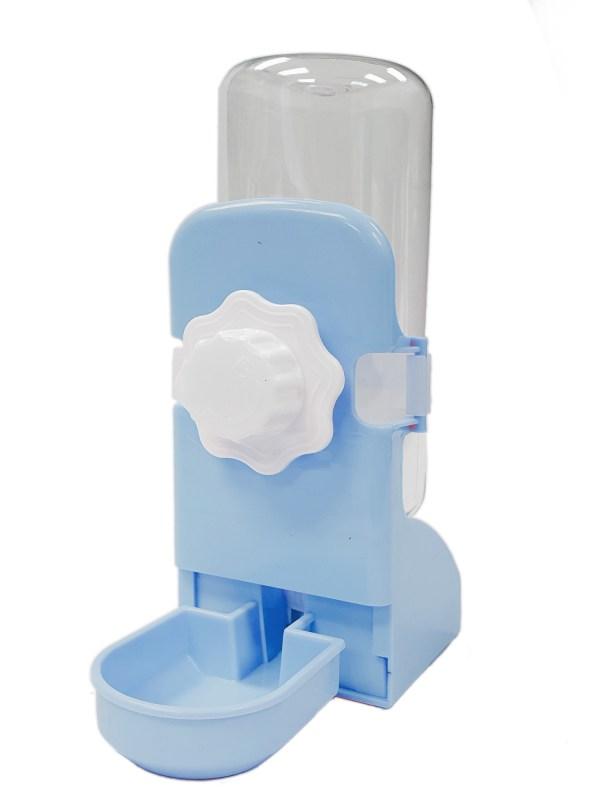 水碗型飲水器(籠外內兩用)(粉藍色)
