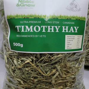 Nibble & Gnaw 加拿大提摩西草一割 500g Timothy Hay 1st cut