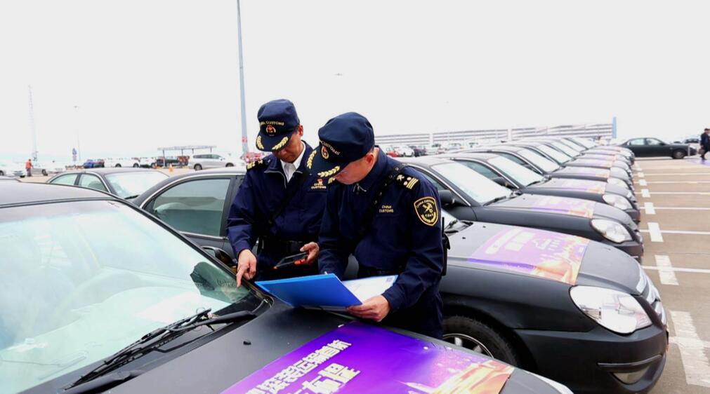 155臺二手車在南沙出口 廣州海關支持二手車出口業務邁上新-香港商報