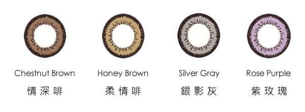 ONE-DAY Delight MAX 3 HydrationPLUS 每日自然色彩即棄CON - 香港網上隱形眼鏡
