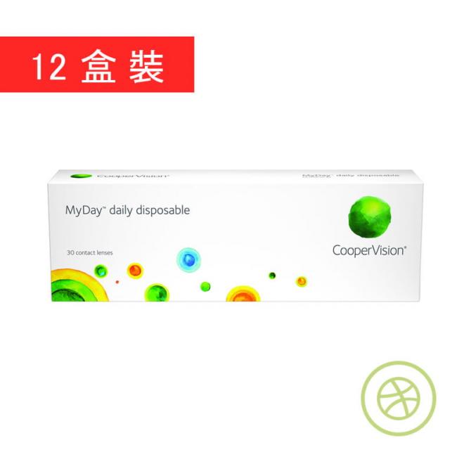 MyDay 每日即棄矽水凝膠隱形眼鏡 - 香港網上隱形眼鏡