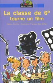 La classe de sixième tourne un film