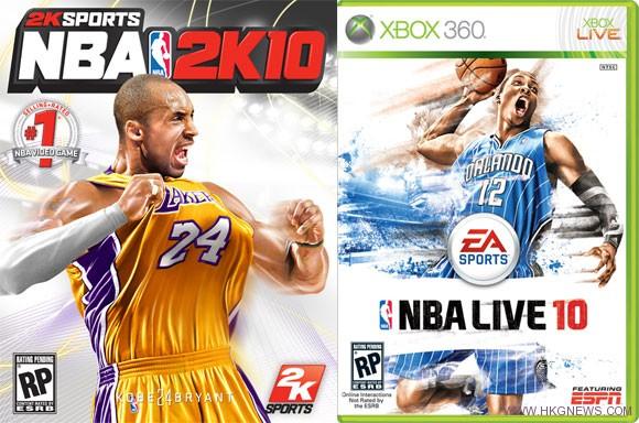 《NBA Live》vs 《NBA 2K》 - www.HKGNEWS.com