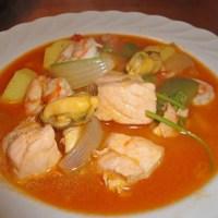 Caldeirada de peixe / portugiesischer Fischeintopf