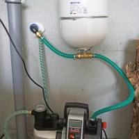 Ein automatisches Bewässerungssystem für unseren Garten / Pumpe und Ausdehnungsgefäß