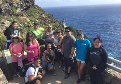 Makapu'u Lighthouse Hike 4-2-17