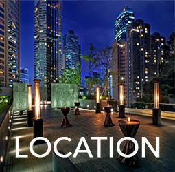 Asia Society HK Center Roof Garden - Location