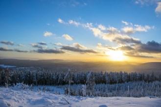 Zauberhafte Schneelandschaft