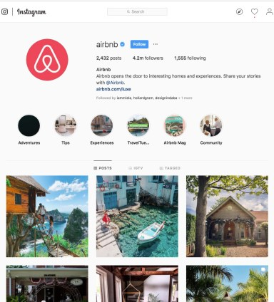 Airbnb Instagram 1