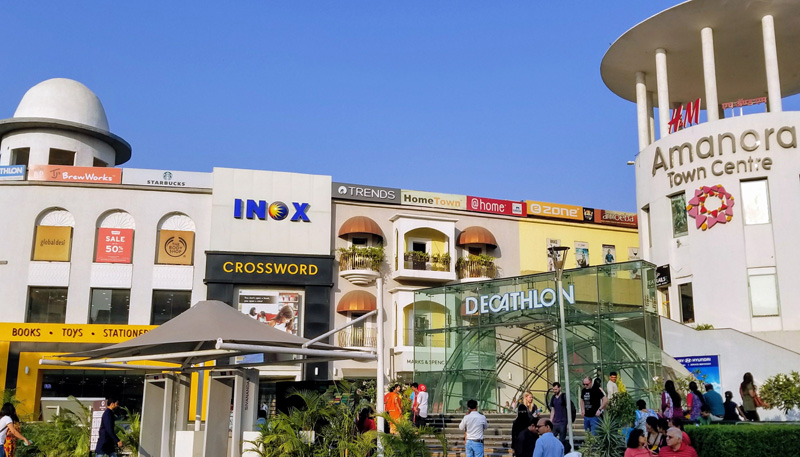 相片: 位於印度浦那(Pune)的Amanora Town Centre購物商場(1) 。