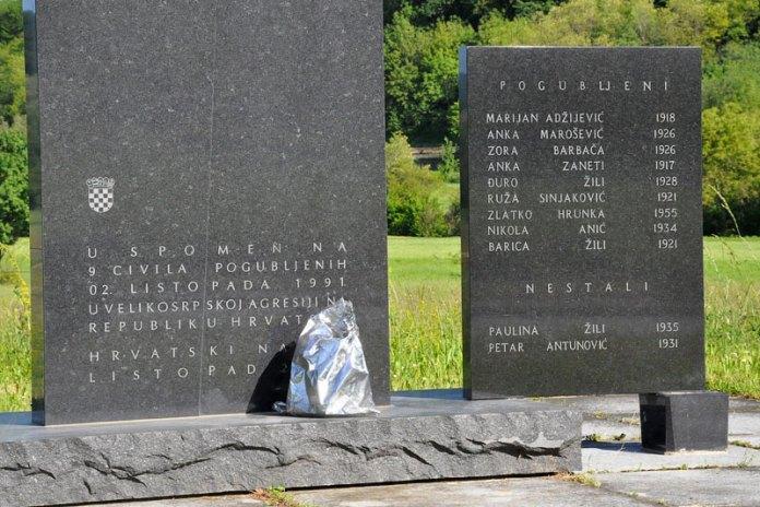 Srpski zločin Donji Čaglić
