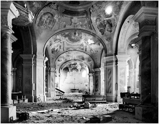 Srušena vukovarska crkva