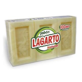 JABON NATURAL LAGARTO 250 Gr LOTE 3