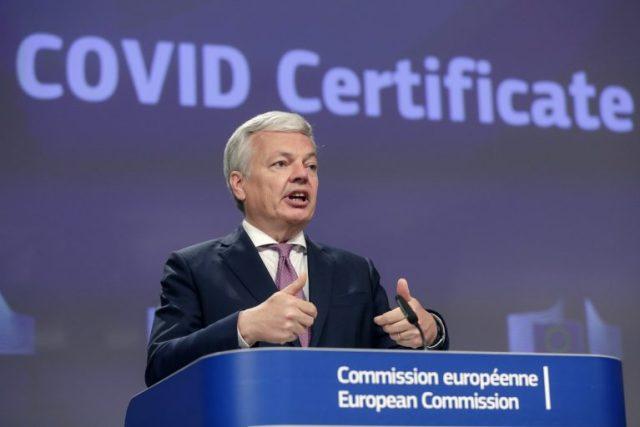 Covid certifikát