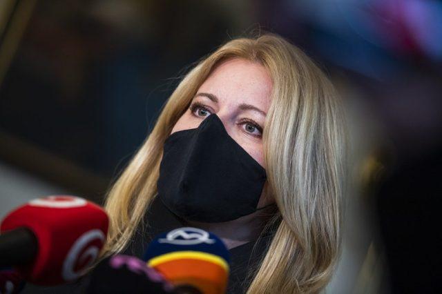 Zuzana Čaputová: Je potrebné vyslať jasný signál stability