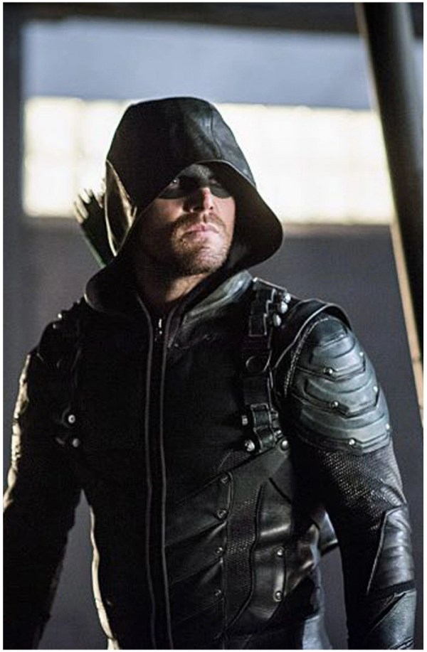 Green Arrow season 5 Jacket | Stephen Amell Leather