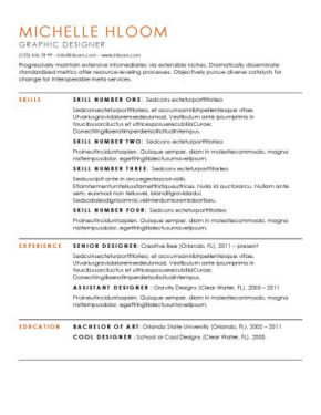 10 Free Microsoft Word Resume Template Hloom