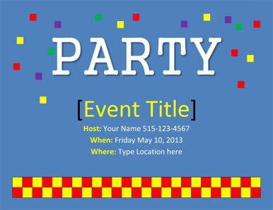26 free printable party invitation
