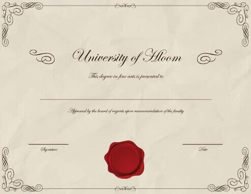 diploma samples certificates template update234 com template formal
