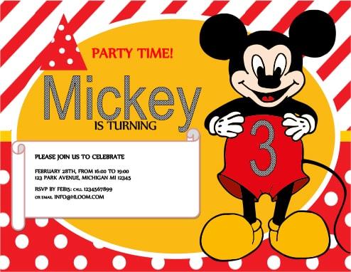 33 invitations de fete pour enfants a