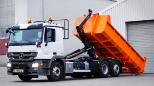 Hook Lift Demountable Container System