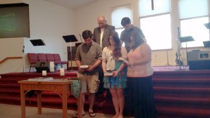 Graduation Sunday at Hadley-Luzerne Wesleyan Church