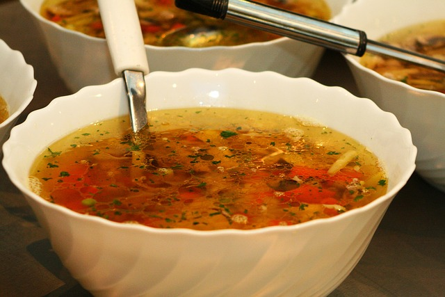 Soup Month at the food pantry