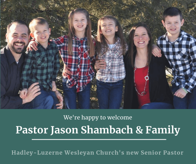 Pastor Jason Shambach and Family