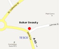 Skin Beautiful Carmarthen Clinic Location