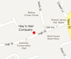 Skin Beautiful Daventry Clinic Location Map