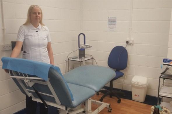 Helen Bowes at Skin Beautiful Llanelli Clinic