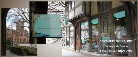 Skin Beautiful Coventry Clinic at Simply Me Boutique, Spon Street Coventry