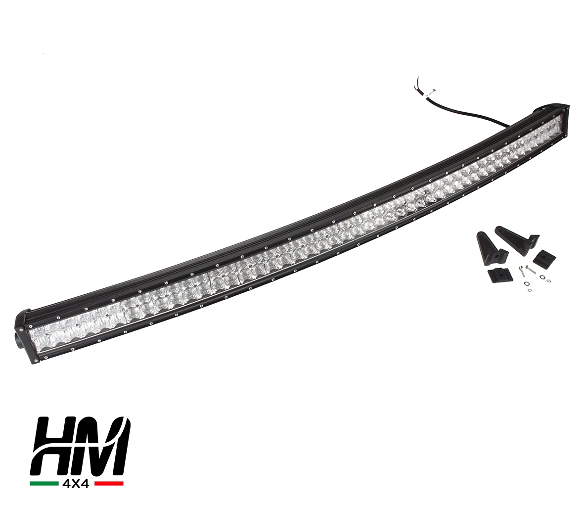 300w Curved Led Bar 4d