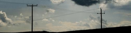 Telephones poles