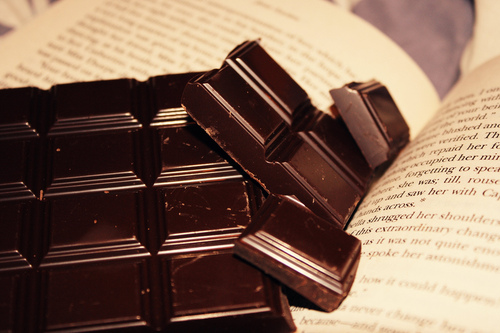 Books and chocolate