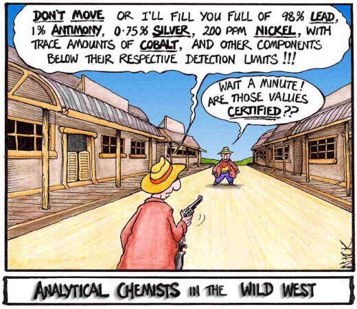 Chemfighting in the wild west