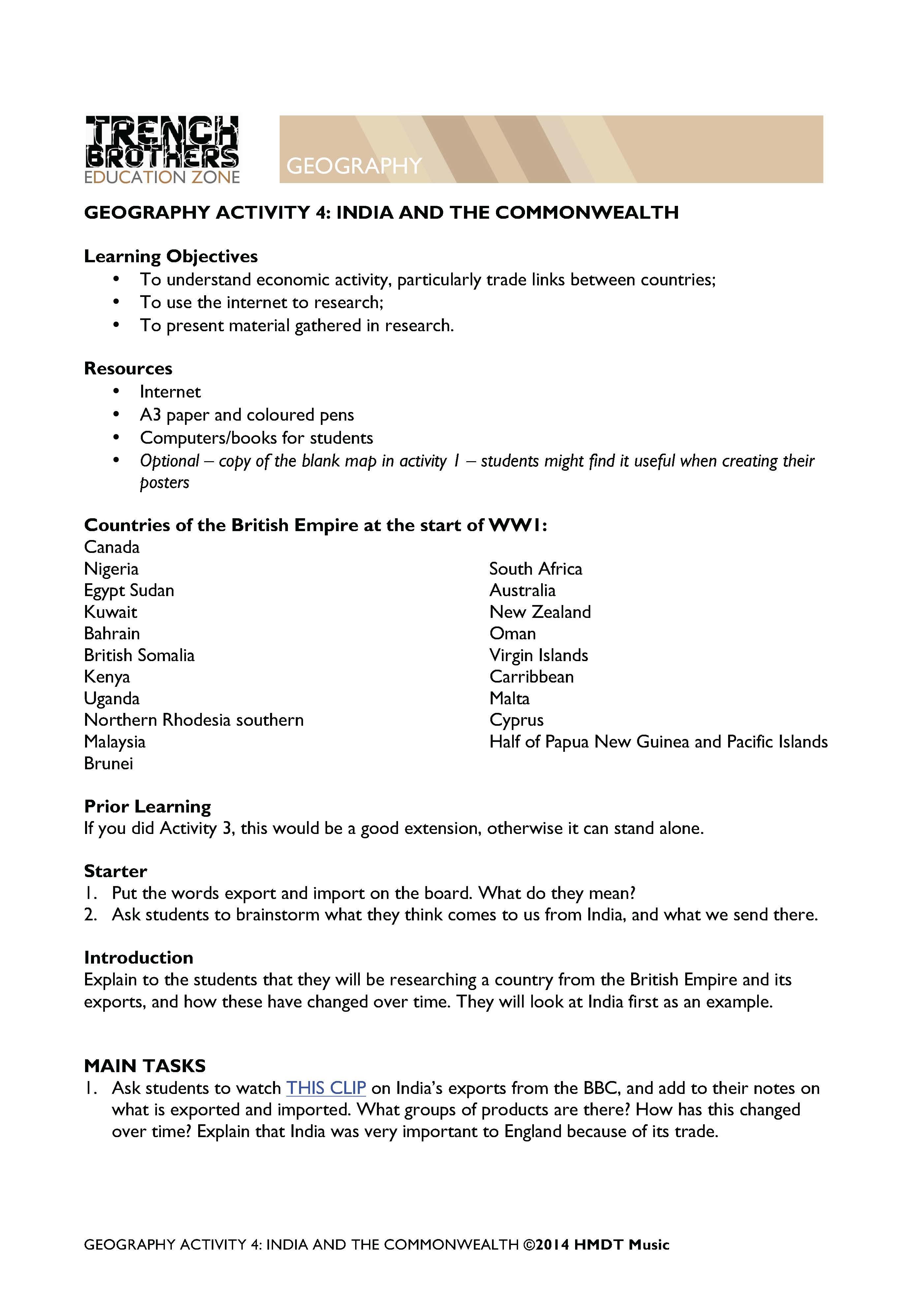 Climate Maps Worksheet