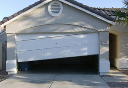 off track garage door repair