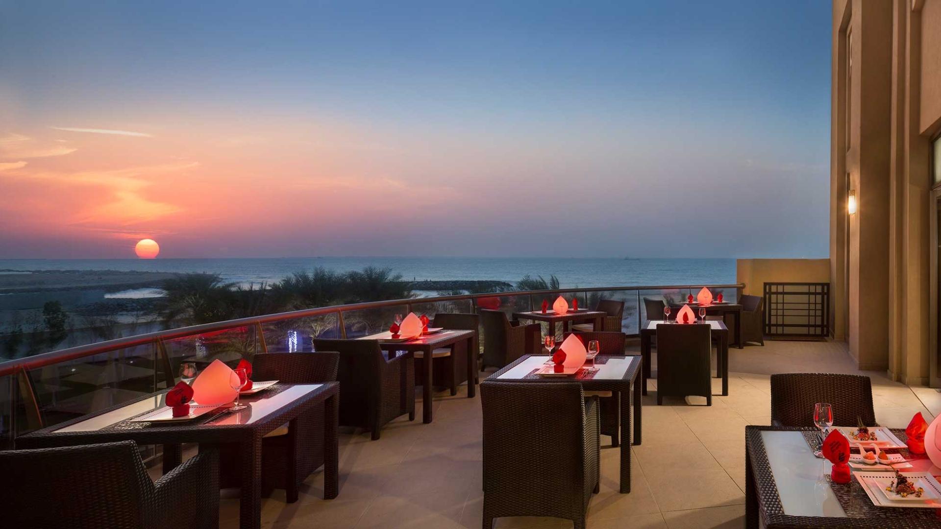 المطاعم في فندق باهي قصر عجمان إدارة الضيافة القابضة
