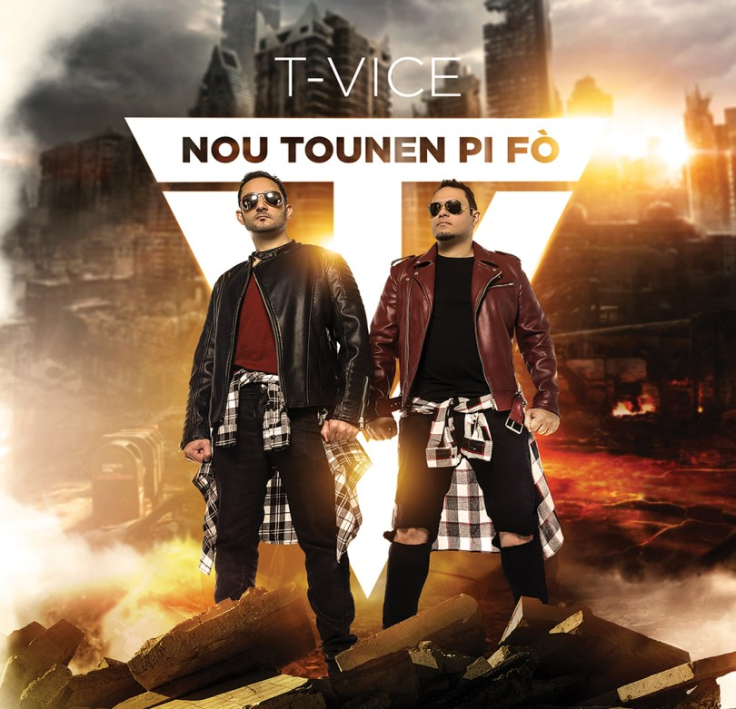 Nou Tounen Pi Fò, T-Vice's 9th studio album brings it full circle.