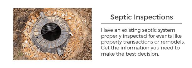 Septic system inspection services for southwest Minnesota