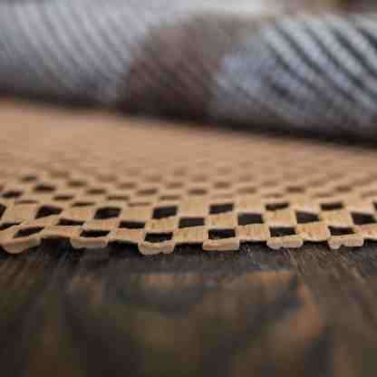 All Stop Open Weave Rug Padding Side