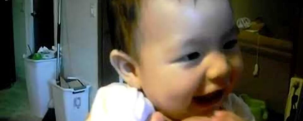 Hmong And Native American Baby Mix: The Baby Got A Chain On, So Cute!
