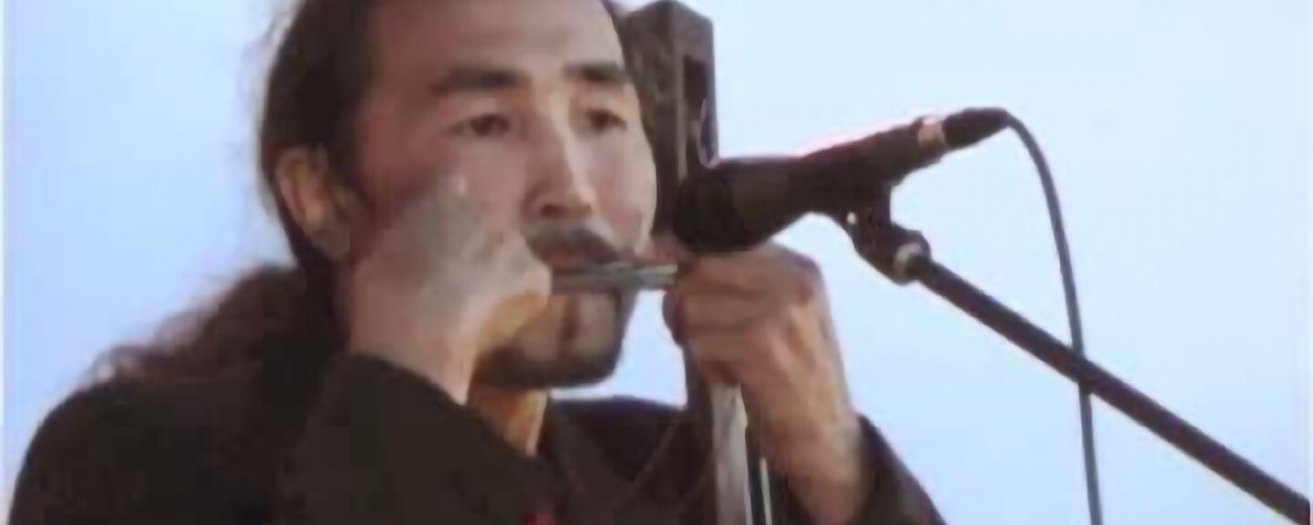 Altaian throat singers: Watch him with the Native Americans at the end