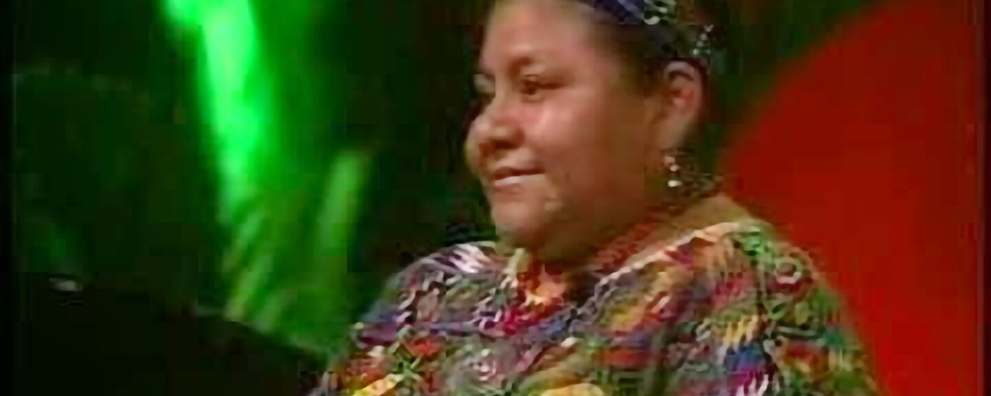 Rigoberta Menchu Live at The Human Forum