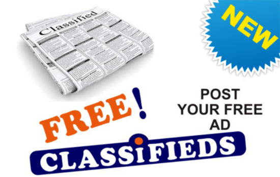 Looking For An Apartment? Browse Our Classifieds. Have A Job To Advertise?  An Apartment To Rent? Post A Classified Ad.