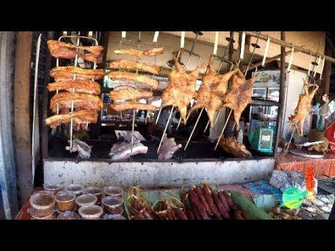 Hmong Best Street Foods In Hmong Valley K-52, Laos