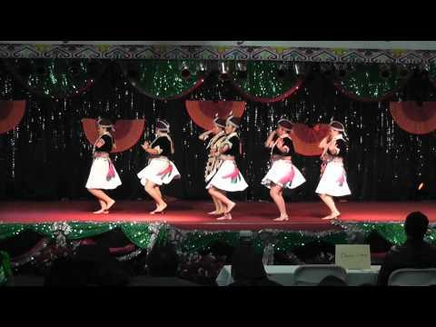 Nkauj Hmoob Tiaj Nrhawv Zeb - Fresno Hmong New Year Dance Comp (Round 1)  2011-2012