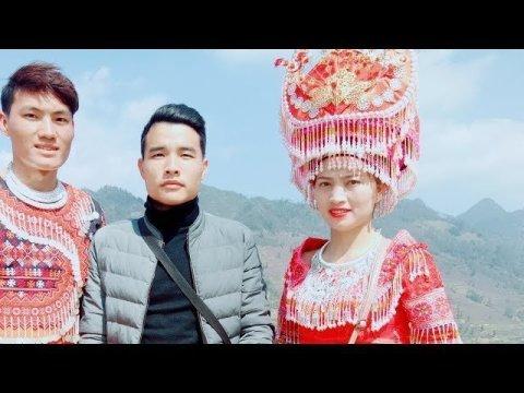 DTVN - Quá nhiều Hotgirl Hmong xinh đến mòn mắt tại  lễ hội  GẦU TÀO Pha Long